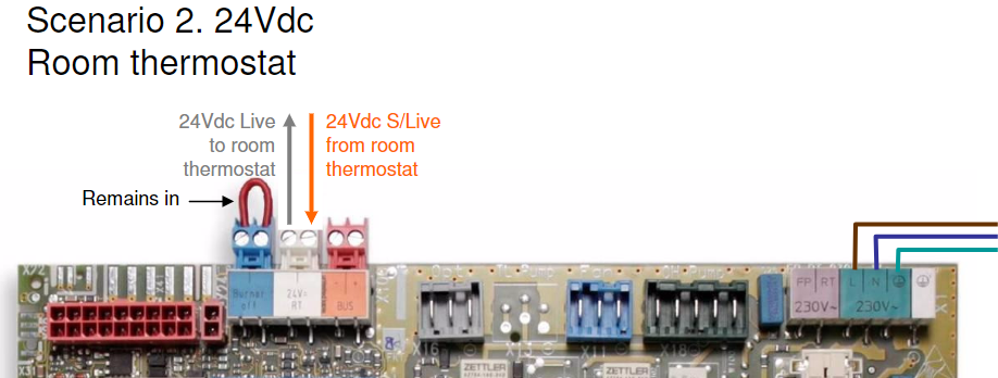 24Vdc wiring (Compatible with single hive only.)